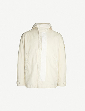 STONE ISLAND Ghost Piece Mil Spec woven jacket