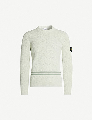 STONE ISLAND Cotton-knit jumper