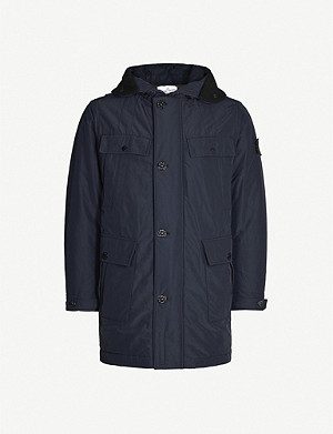 STONE ISLAND Pocket-detailed shell parka