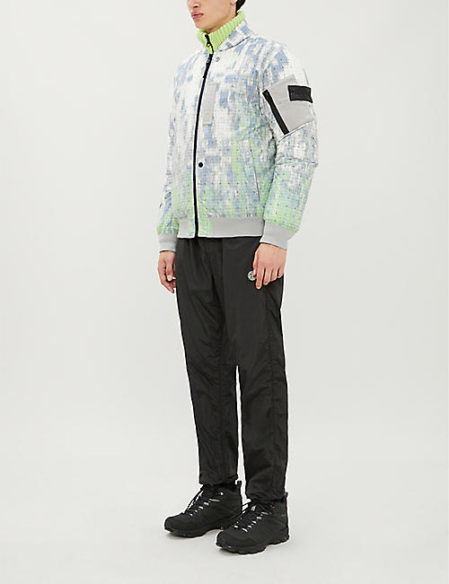 STONE ISLAND SHADOW PROJECT Tie-and-dye shell-down jacket