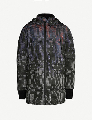 STONE ISLAND Tie-and-dye shell-down jacket