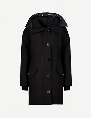 CANADA GOOSE: Rossclair shell parka coat