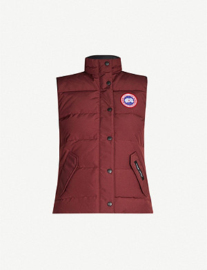 CANADA GOOSE Freestyle sleeveless shell-down gilet