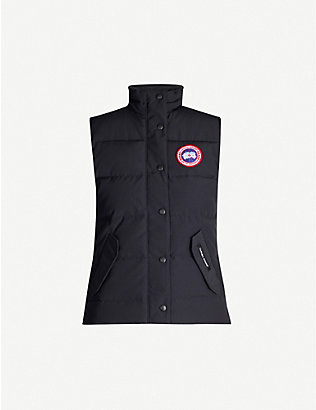 CANADA GOOSE: Freestyle sleeveless shell-down gilet