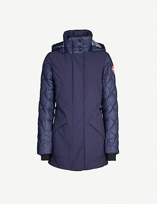 CANADA GOOSE Berkley shell and down-blend coat d694d5da849e
