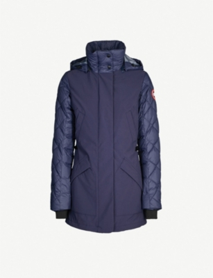 CANADA GOOSE Berkley shell and down-blend coat