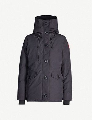 CANADA GOOSE Rideau Black Label shell-down parka coat