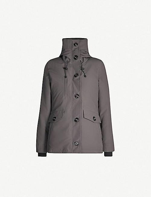 4b40e3b941ed CANADA GOOSE Rideau padded parka jacket