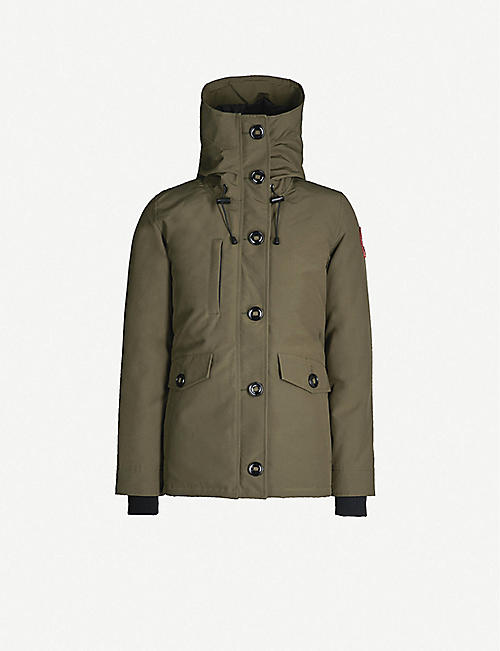 CANADA GOOSE Rideau padded parka jacket 57373ac7df