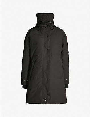CANADA GOOSE: Shelburne shell and down parka coat