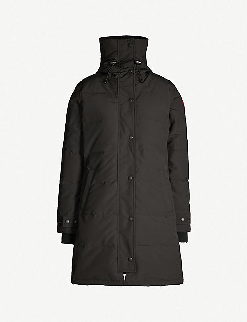CANADA GOOSE Shelburne shell and down parka coat