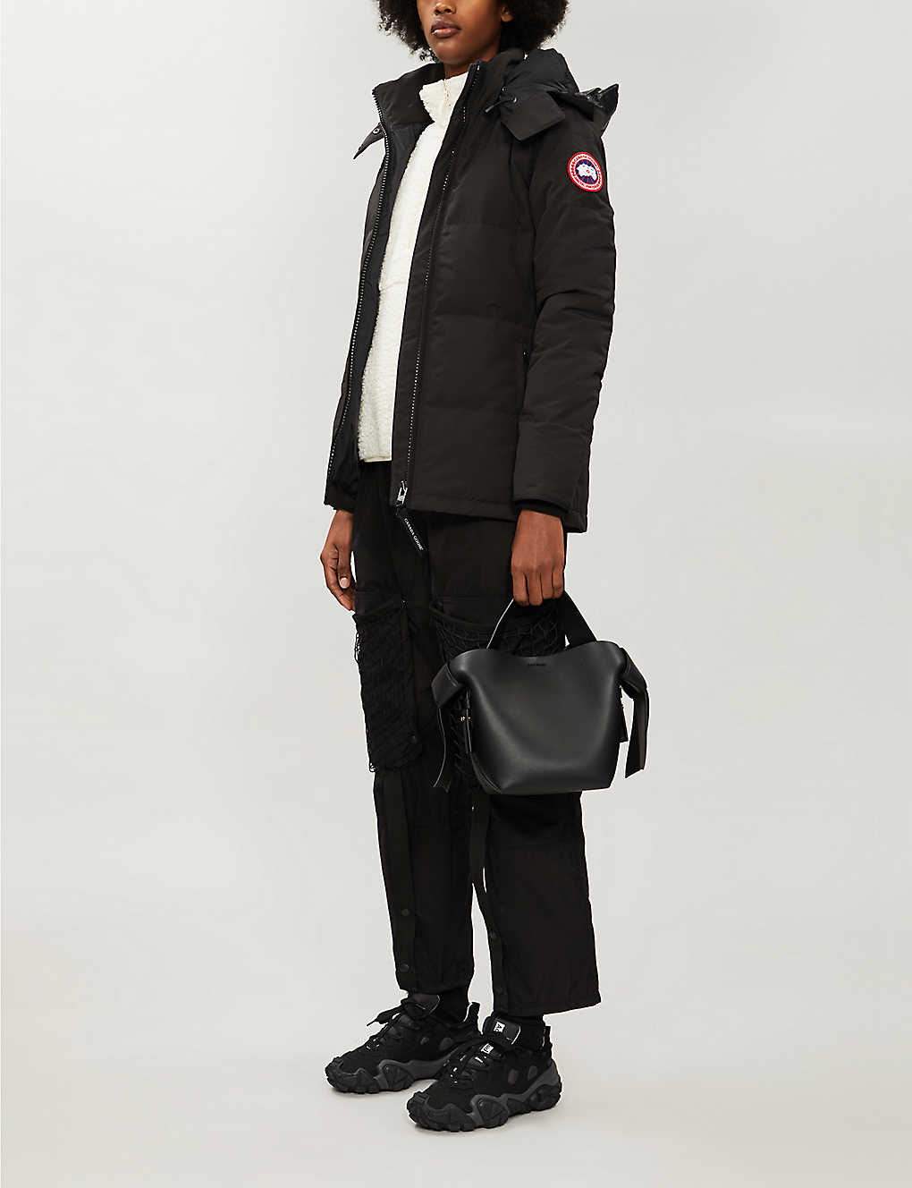 CANADA GOOSE: Chelsea parka shell-down jacket