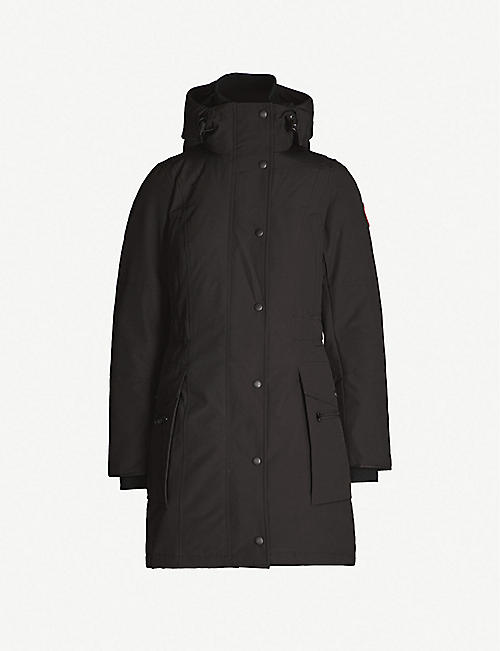 CANADA GOOSE Kinley twill padded parka coat