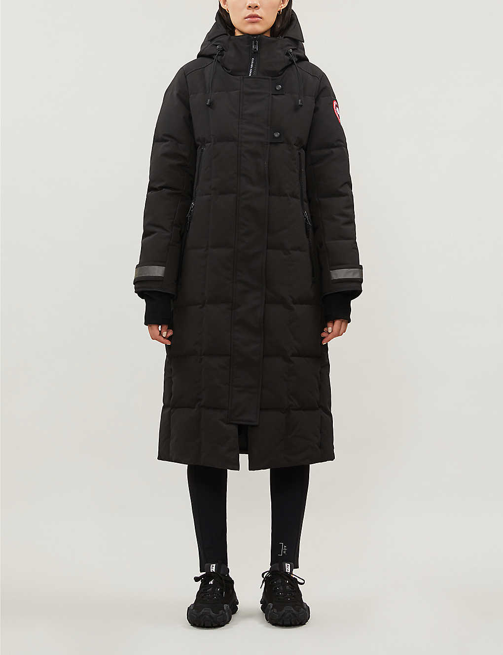 CANADA GOOSE: Elmwood quilted shell-down parka coat