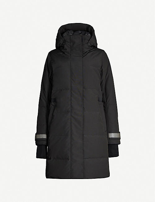 CANADA GOOSE: Bennett Black Label shell-down jacket