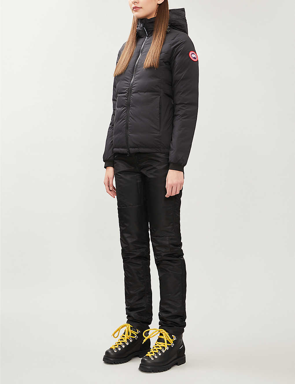 CANADA GOOSE: Camp quilted shell-down hooded jacket