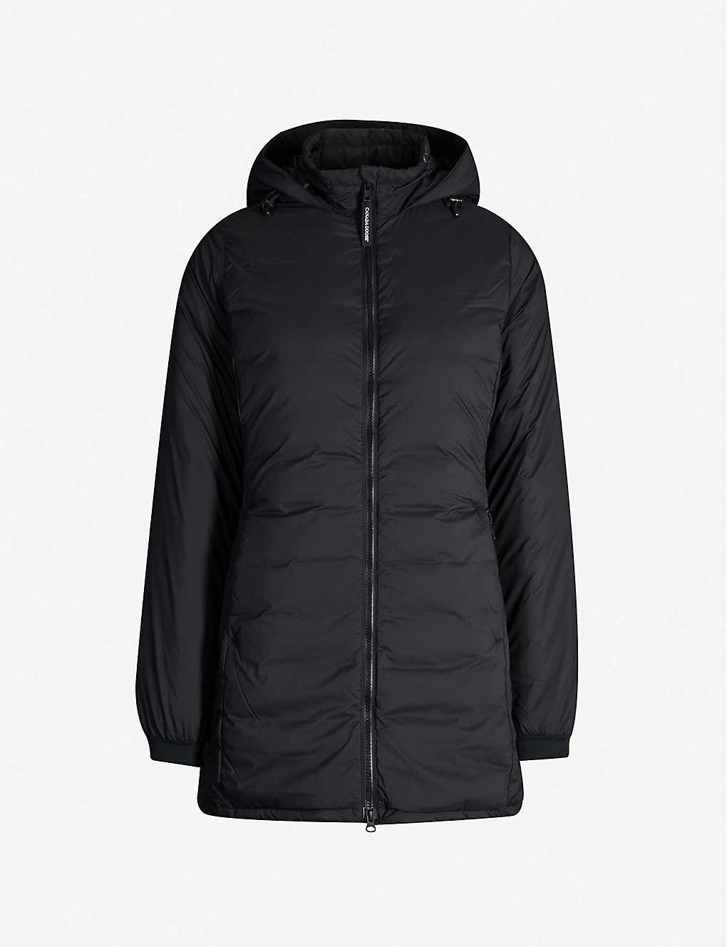 CANADA GOOSE: Camp hooded quilted shell-down jacket
