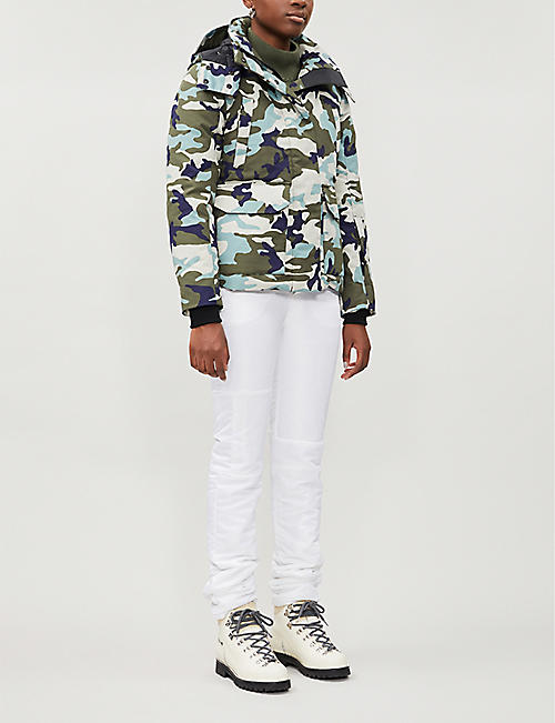 CANADA GOOSE Blakeley camo-print hooded woven jacket