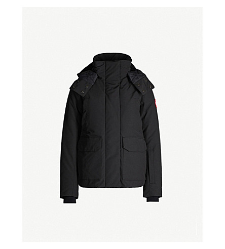 62e17b4de CANADA GOOSE - Blakely feather and shell-down parka coat ...