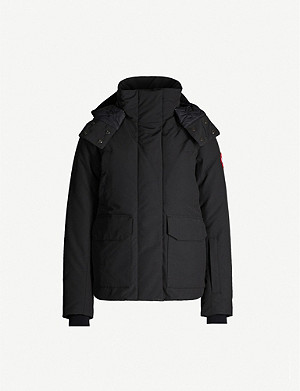 CANADA GOOSE Blakely feather and shell-down parka coat