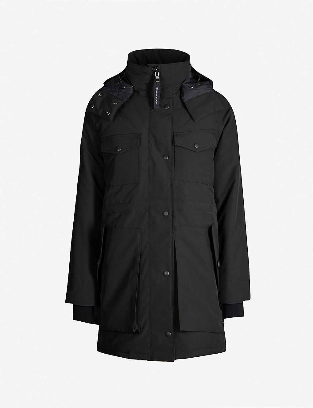 79df6507b39 CANADA GOOSE - Gabriola feather and shell-down parka coat | Selfridges.com