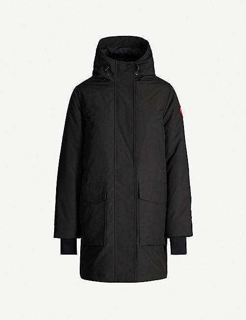 CANADA GOOSE Canmore hooded feather and shell-down parka