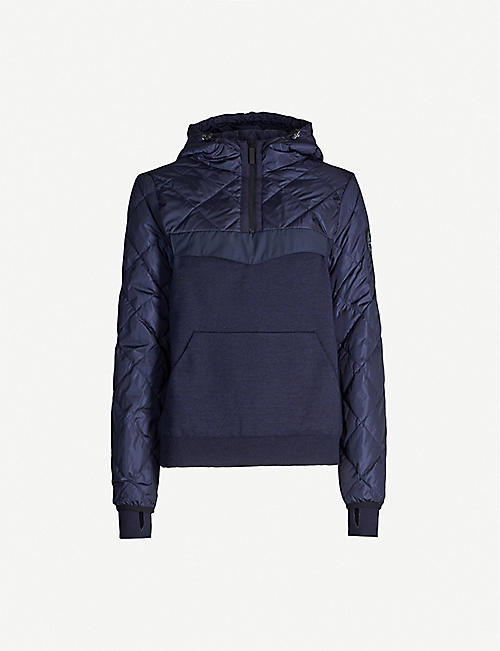 CANADA GOOSE Hybridge shell and knitted jacket