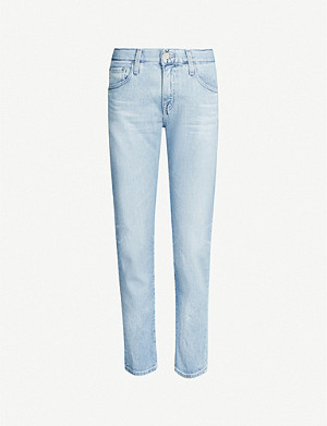 AG The Ex-Boyfriend cropped mid-rise jeans