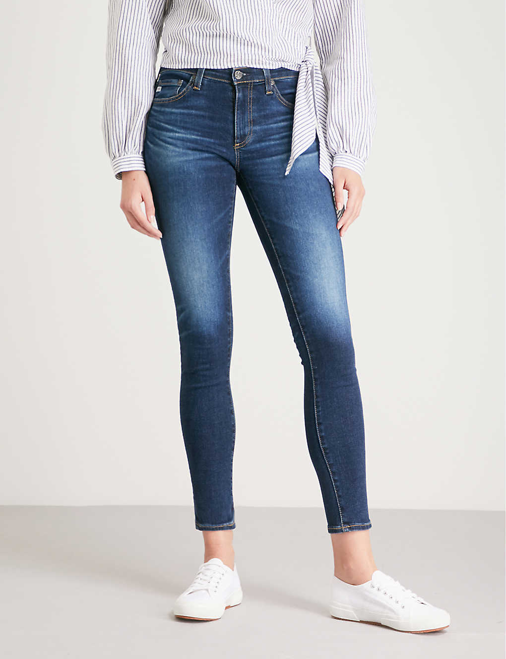 Ag The Legging Ankle Super Skinny Mid-rise Jeans In 7 Years Timeless