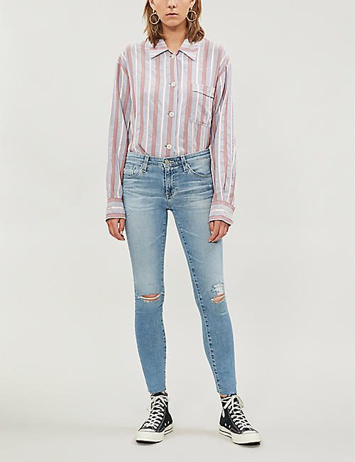 AG The Legging Ankle super-skinny stretch-denim jeans