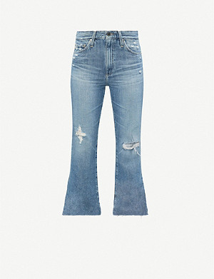 AG Quinne distressed denim jeans