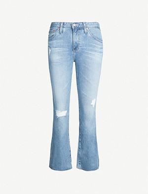 AG Jodi cropped high-rise jeans