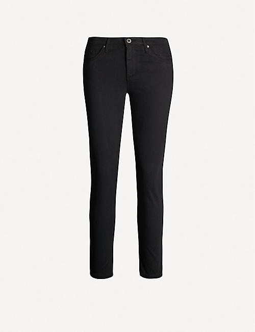 AG Prima cropped cigarette mid-rise jeans