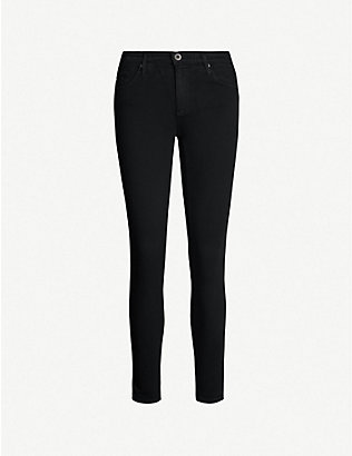 AG: The Legging Ankle super-skinny mid-rise jeans