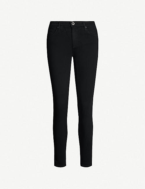 AG The Legging Ankle super-skinny mid-rise jeans