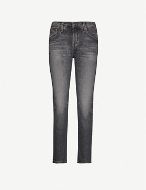 AG Ex-Boyfriend slouchy slim-fit high-rise jeans