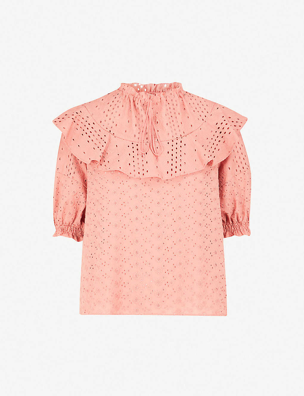 9f50bc79 SEE BY CHLOE - Broderie anglaise cotton top | Selfridges.com