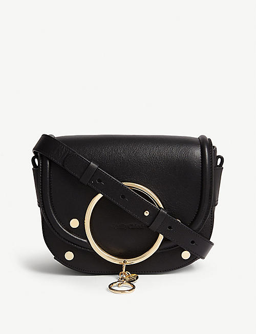 SEE BY CHLOE Leather saddle bag