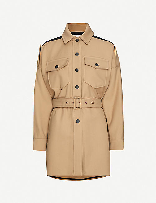 SEE BY CHLOE Military cotton-twill jacket