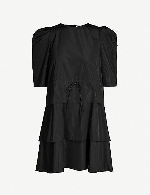 628402814a SEE BY CHLOE Tiered taffeta dress