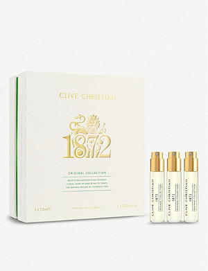 CLIVE CHRISTIAN Original collection 1872 Feminine perfume set of three