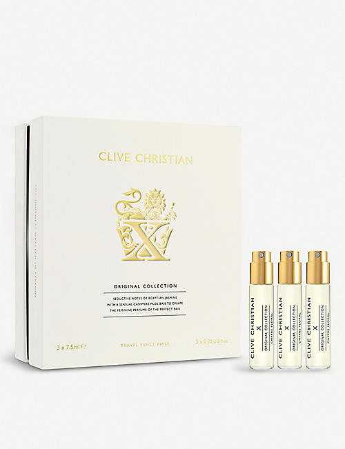 CLIVE CHRISTIAN Original Collection X Feminine Travel Set 3 x 7.5ml