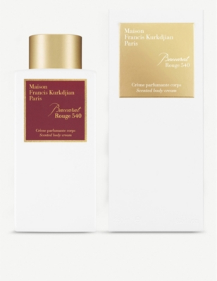 MAISON FRANCIS KURKDJIAN Baccarat Rouge 540 body cream 250ml