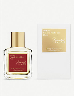 MAISON FRANCIS KURKDJIAN: Baccarat Rouge 540 scented body oil 70ml