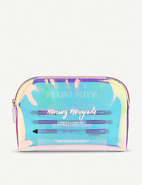 HUDA BEAUTY Mercury Retrograde Ultimate Eye brush set