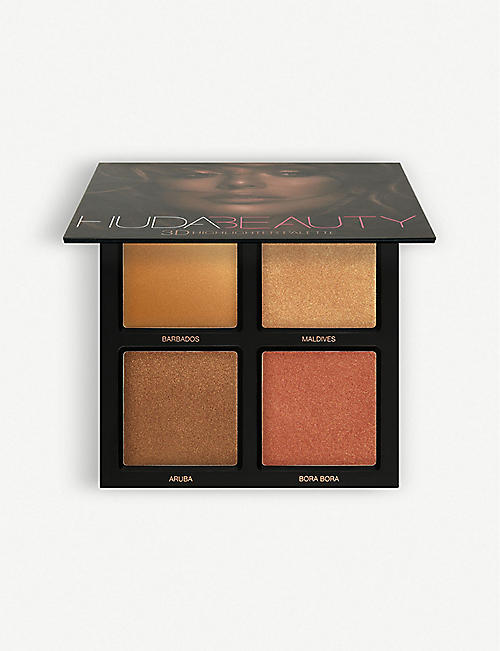 HUDA BEAUTY: Bronze Sands 3D Highlighter Palette