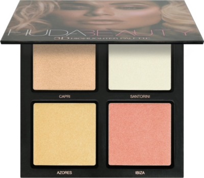 HUDA BEAUTY Pink Sands 3D Highlighter Palette