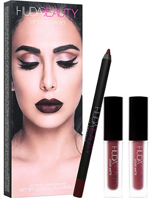 HUDA BEAUTY Lip Contour Set Vixen & Famous