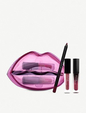 HUDA BEAUTY Matte & Cream Lip Set kit
