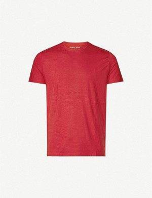 DEREK ROSE Basel crewneck stretch-modal T-shirt